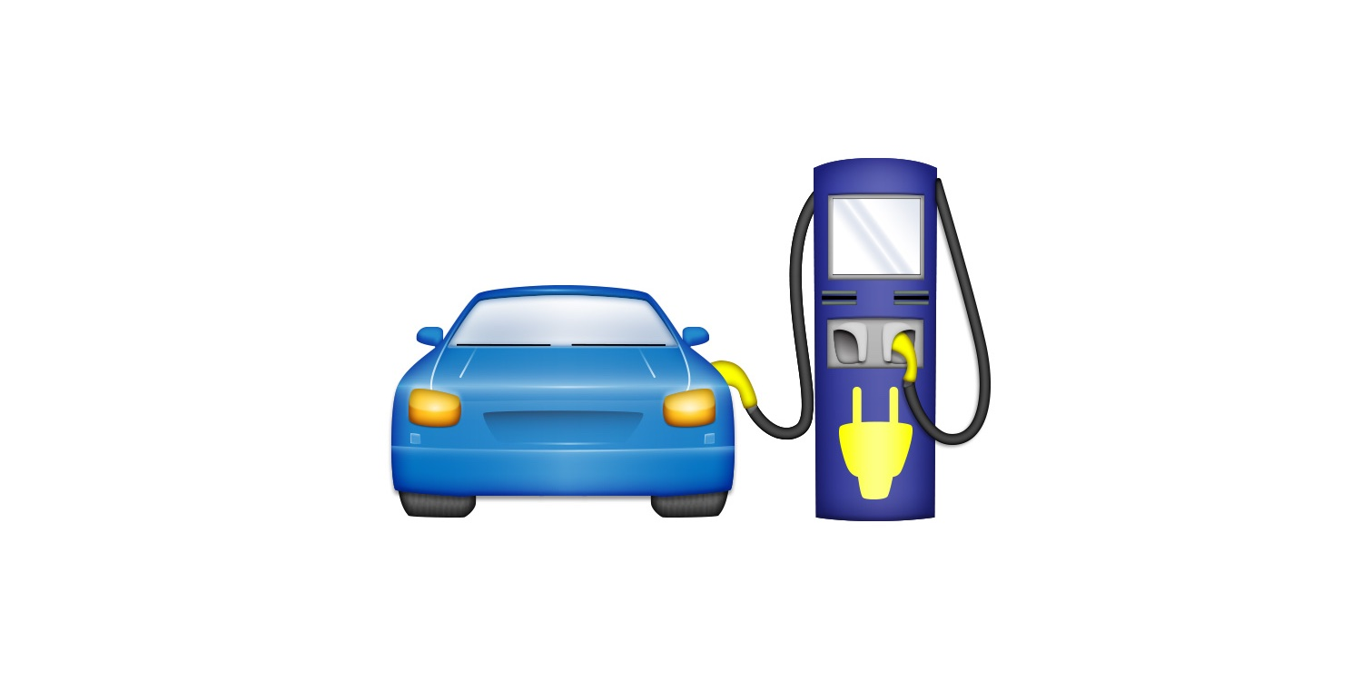 An EV emoji? Electrify America proposes 'Electric Vehicle With Charger' to Unicode Consortium