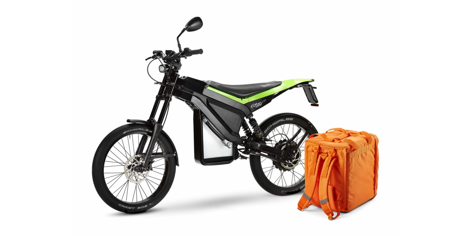 New ELMOTO LOOP light electric motorcycle is a delivery bike I'd ride every day