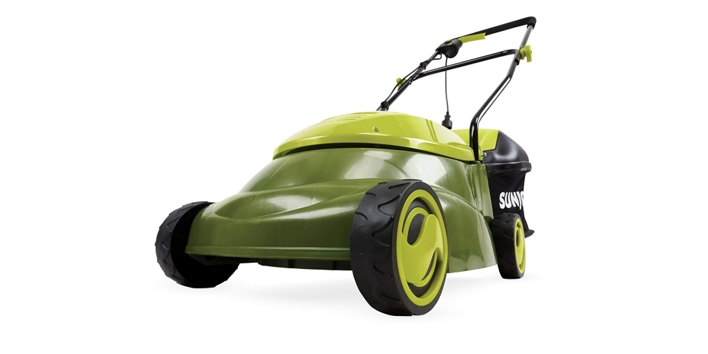Pick up Sun Joe's 14-inch 13A Electric Lawn Mower $84, more