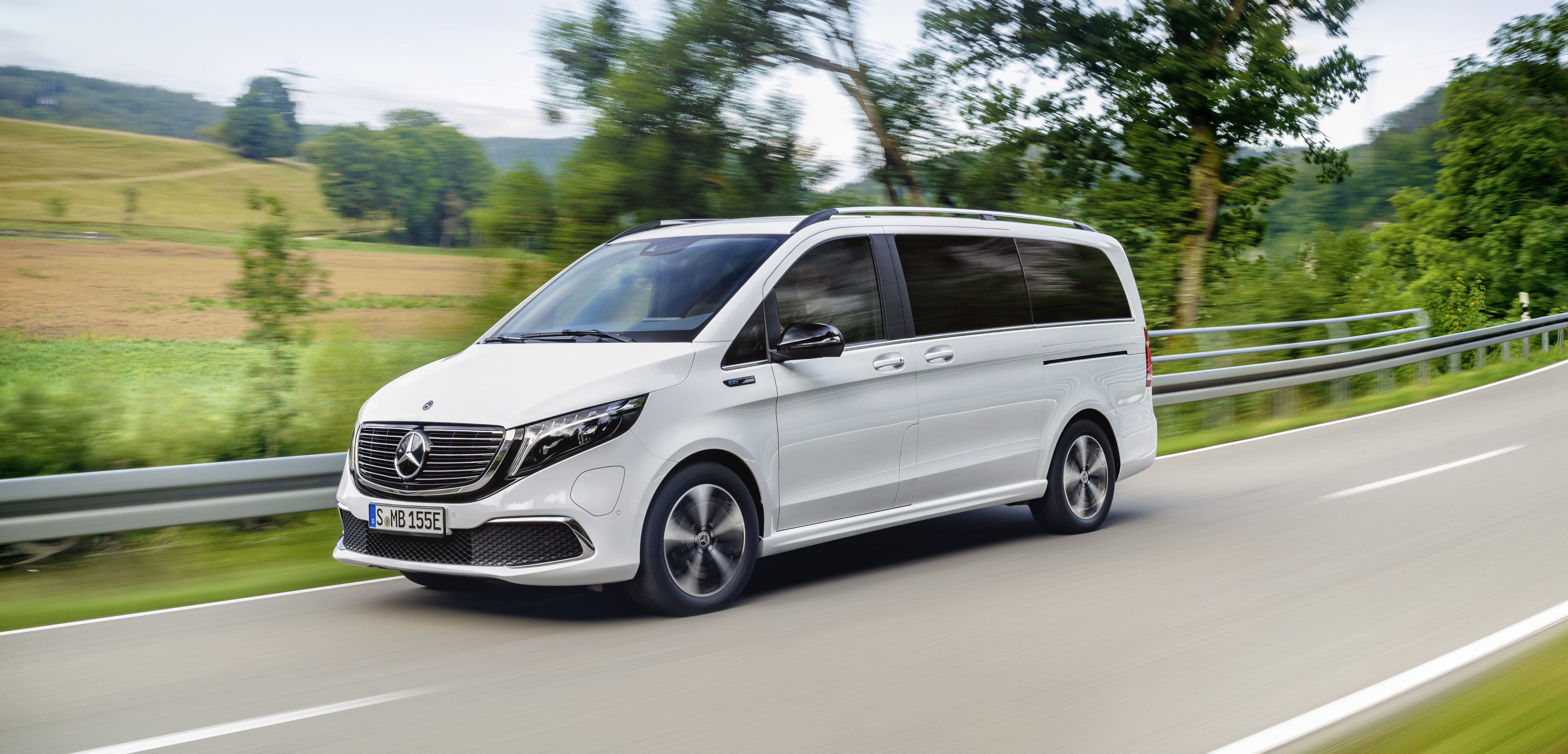 Mercedes Benz Unveils All Electric Mpv Van With 250 Miles Of Range Electrek