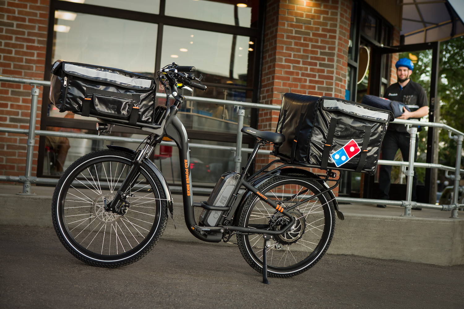 Delivery e-bikes to serve up hot pizza from Domino's nationwide