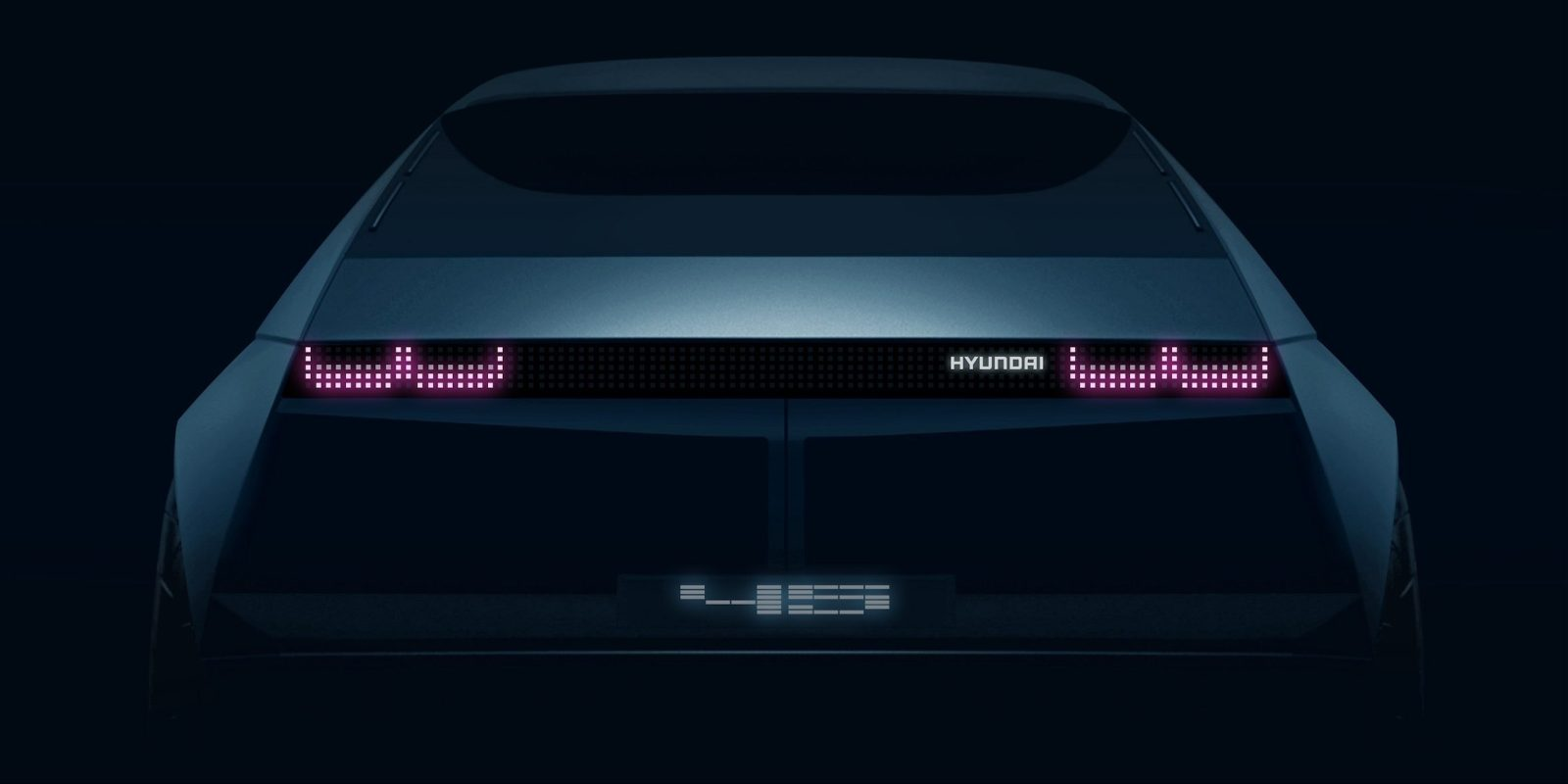 Hyundai teases a new 1970s-inspired electric car to be unveiled next month