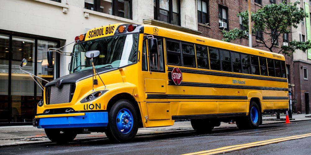 New York vehicle-to-grid school bus