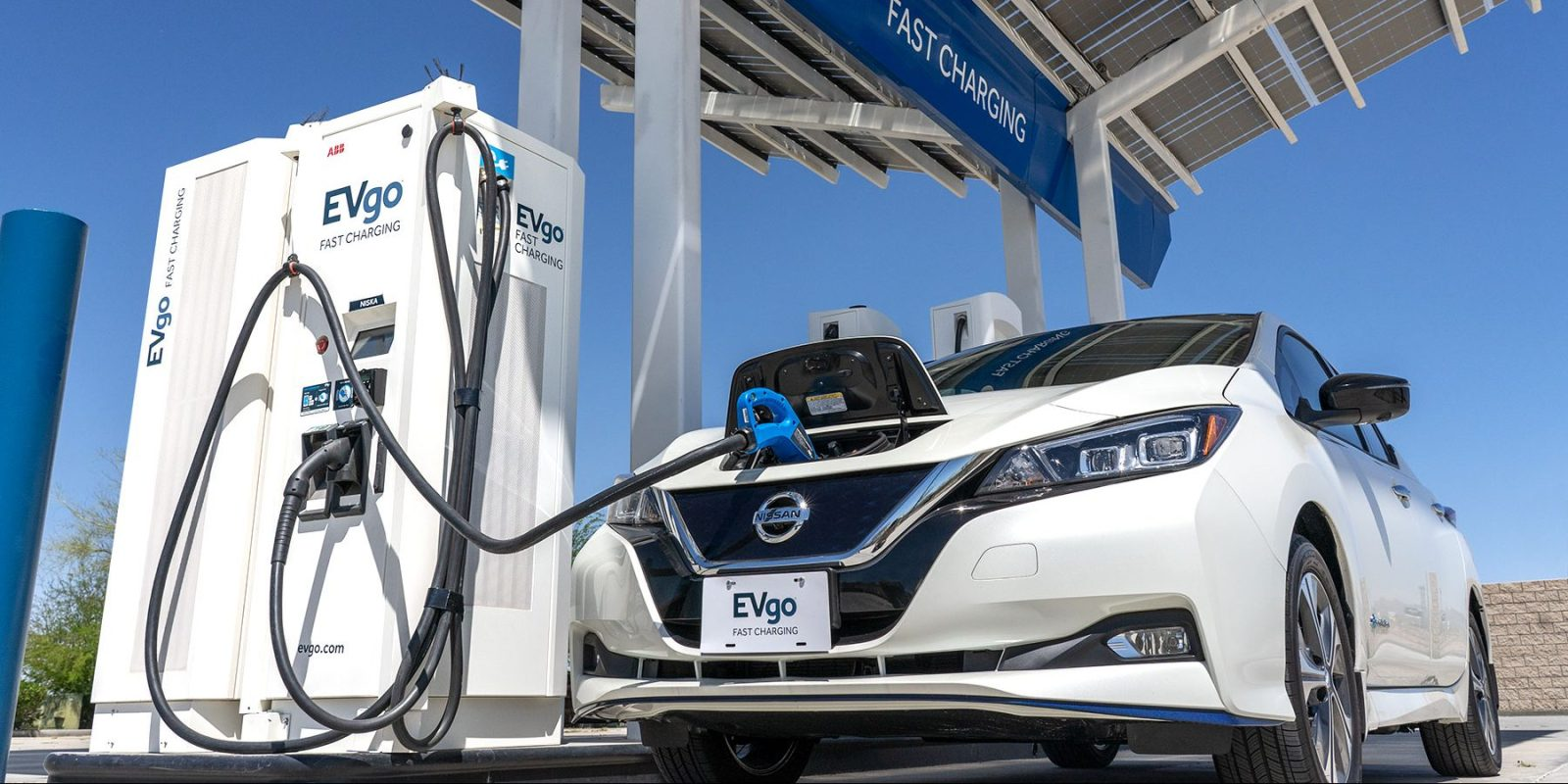 Nissan and EVgo announce 200 more fast-charging stations for electric cars in the US