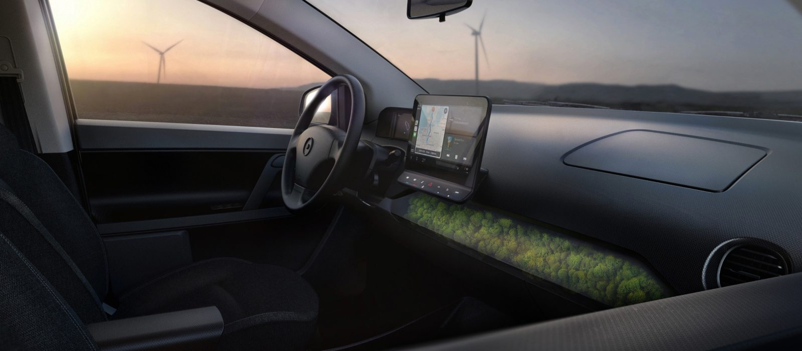 Sono unveils interior of its solar-powered electric car: Yes