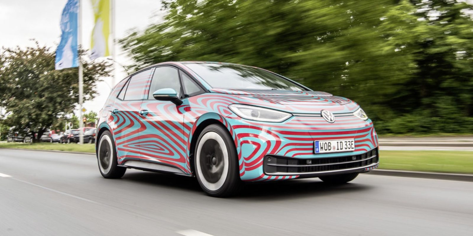 VW To Unveil ID3 Electric Car Next Week, Compares