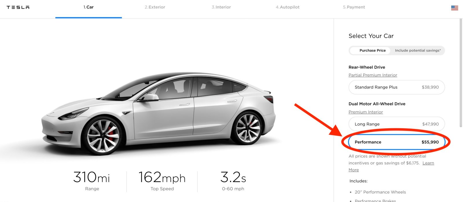 Tesla updates Model Y prices, increases price of Model 3 Performance