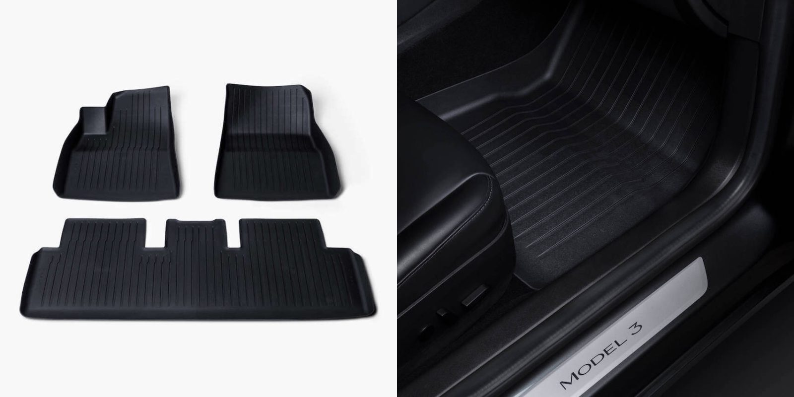Tesla launches new and better Model 3 floor mats made of recyclable material
