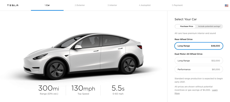 Tesla updates Model Y prices, increases price of Model 3 ...