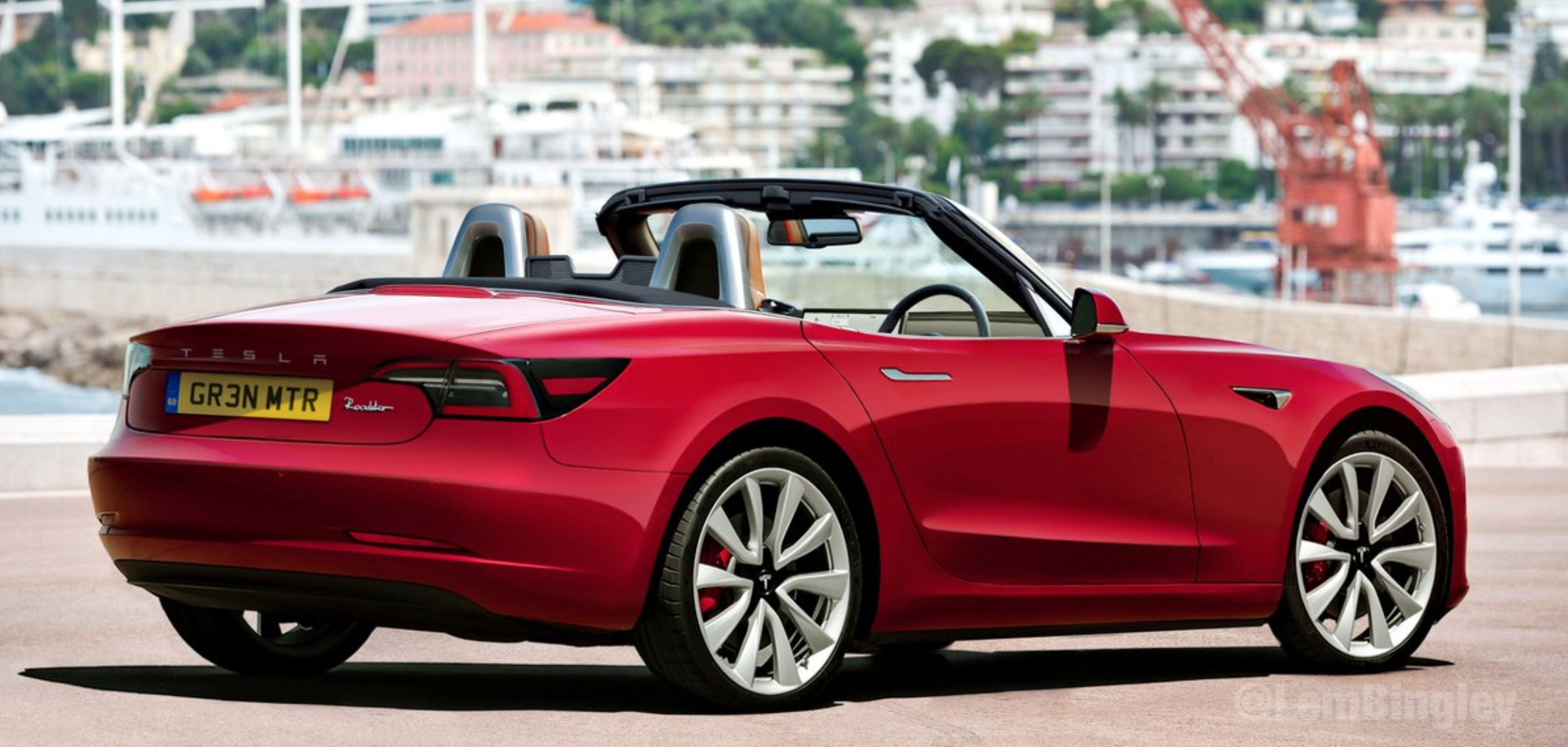 Tesla Miata-size convertible based on Model 3: Love it or Hate it - Electrek