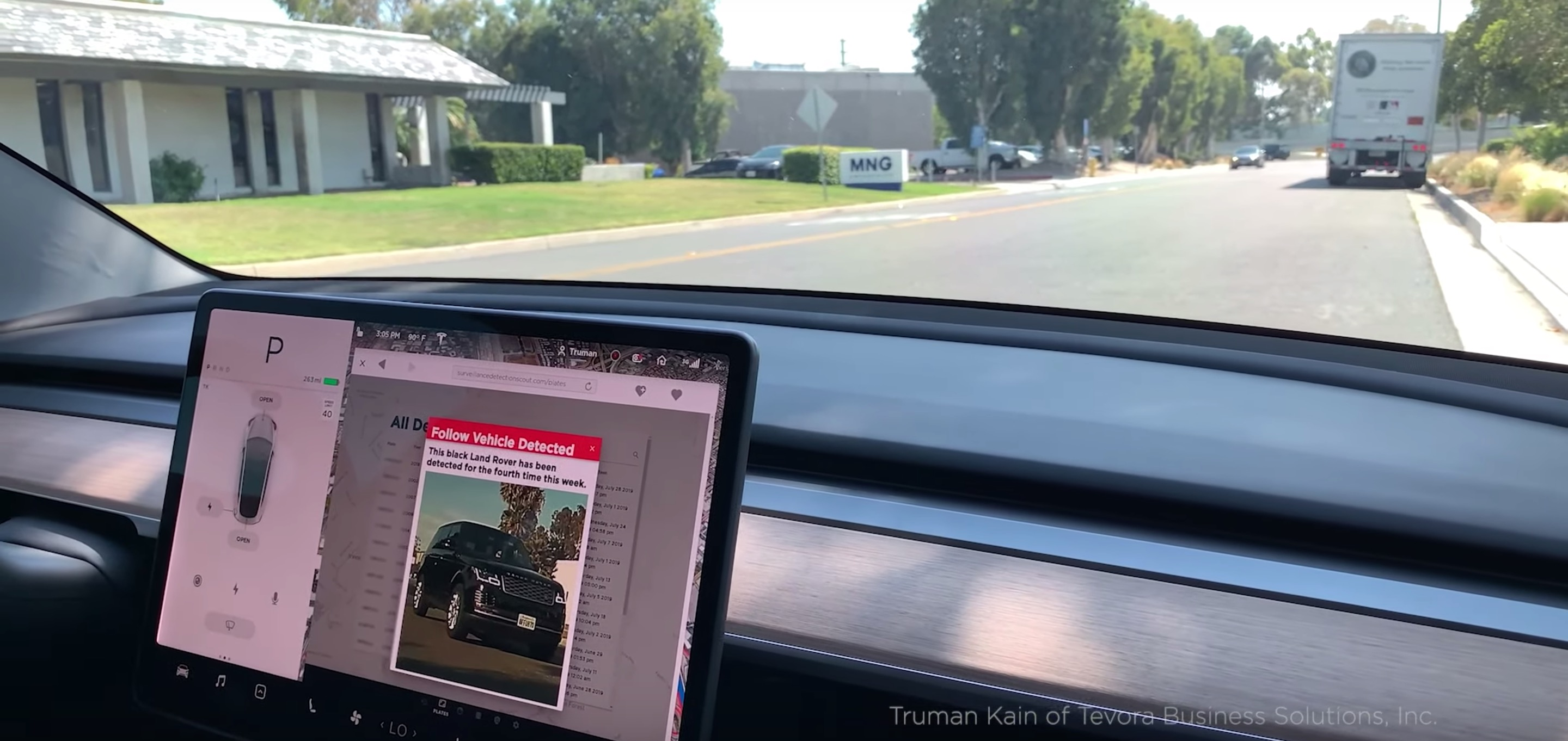 Turn your Tesla into a CIA-like counter-surveillance tool with this hack - Electrek