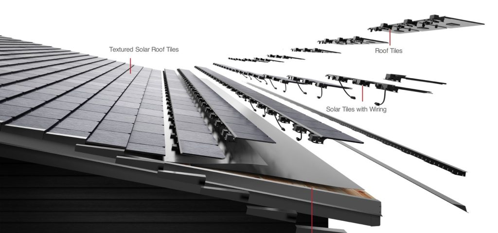 Tesla Solar Roof could automatically melt snow off your roof - Electrek