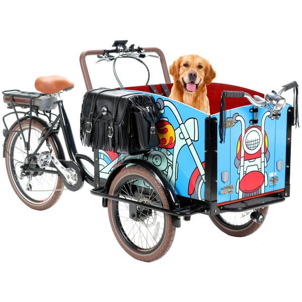 The Bark electric cargo bike