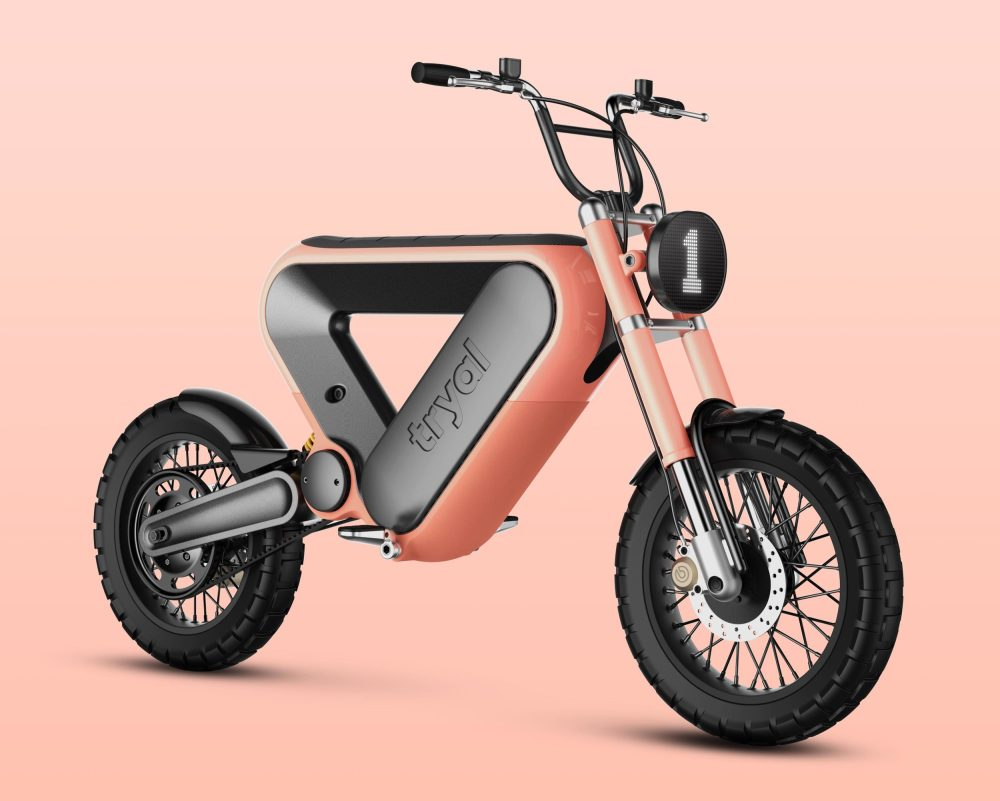 Tryal electric motorcycle