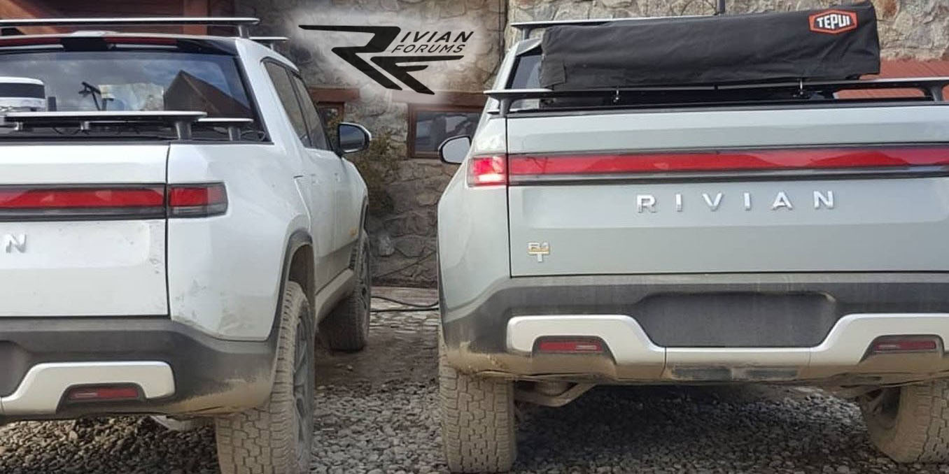 Rivian R1T spotted doing winter testing in Tierra del Fuego
