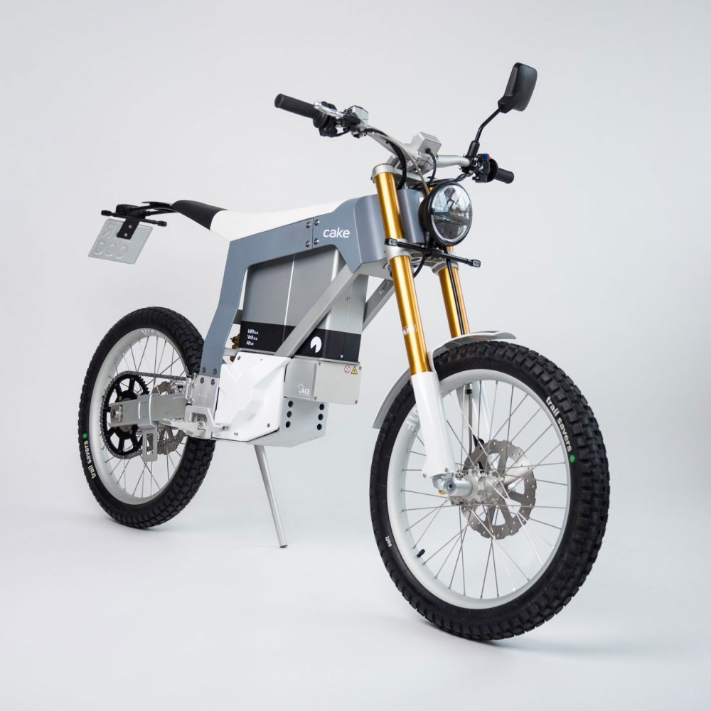 Cake Kalk& Electric Motorcycle Is Street Legal And
