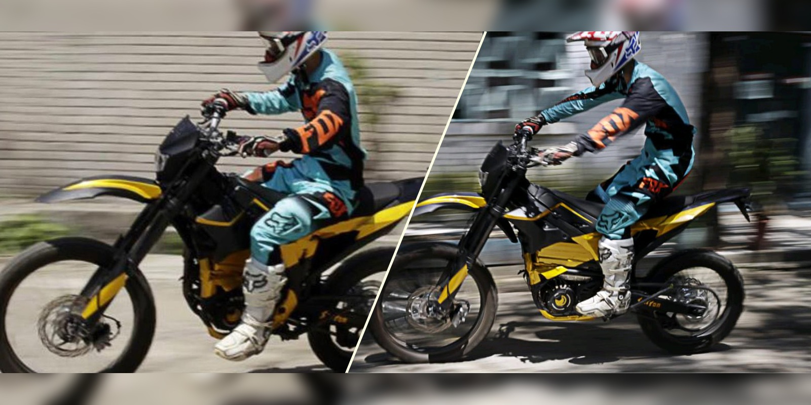 Sur Ron boom bee electric motorcycle details and specs