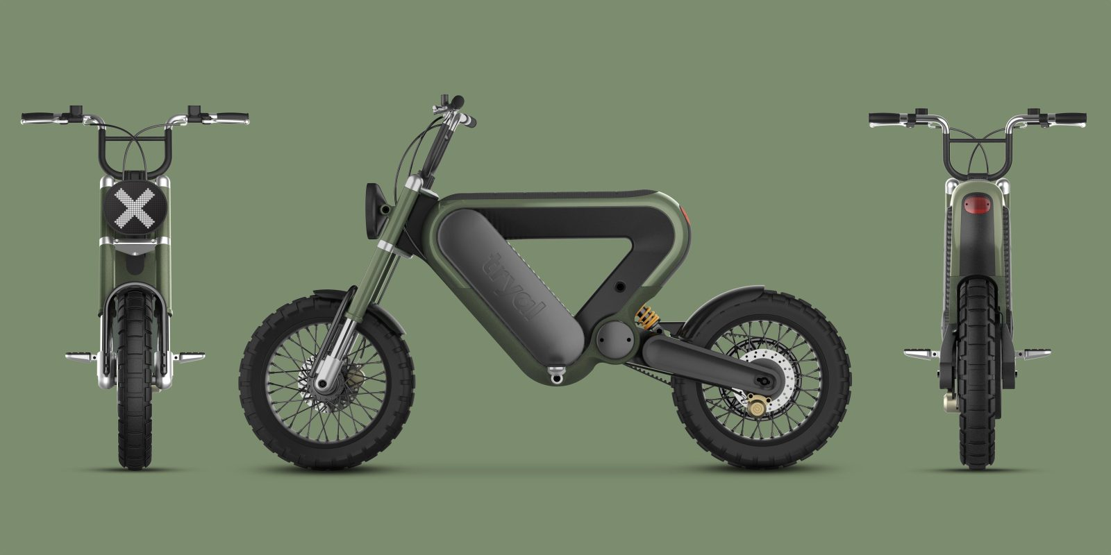 Check out this trippy 'future of motorcycling' electric motorcycle design