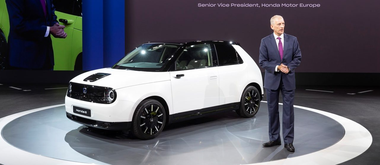 Honda unveils production version of Honda E electric car, price starts at ~$33,000