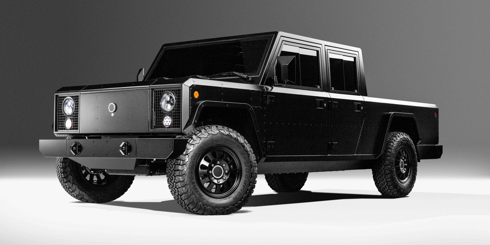 Bollinger unveils new B1/B2 electric utility truck and pickup
