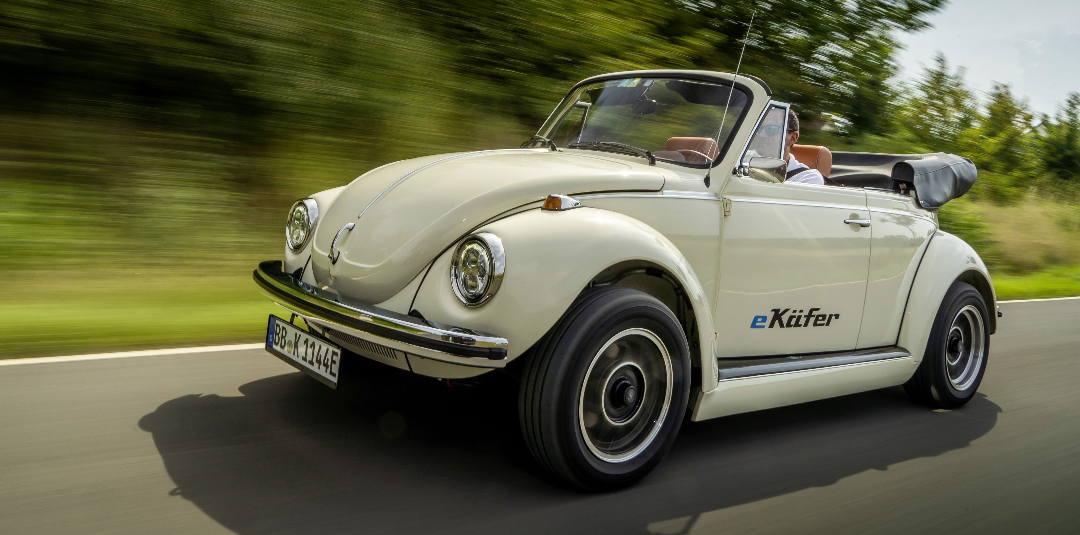 VW to start offering electric conversion of classic Beetles