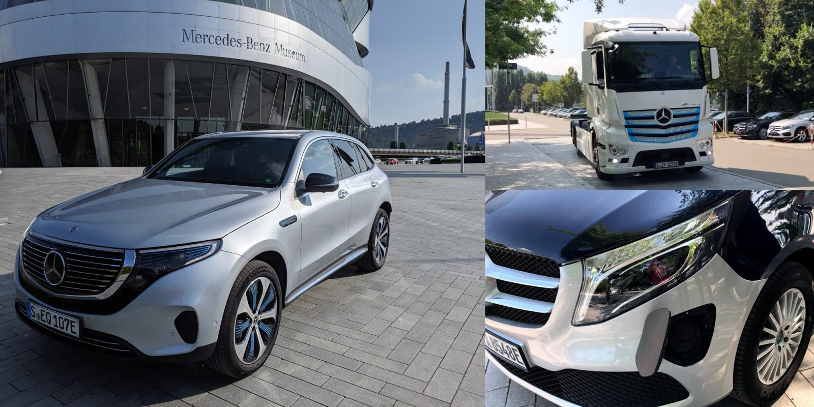 Mercedes previews electric vehicle lineup incl  exclusive
