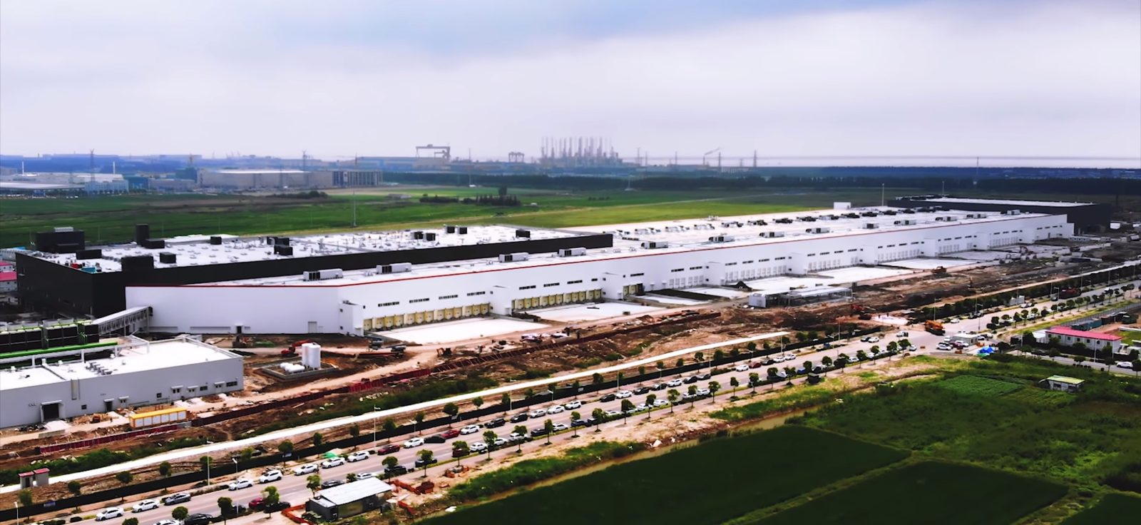 Tesla appears to be preparing an expansion at Gigafactory 3