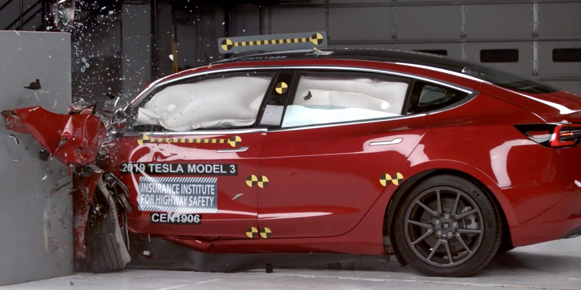 Tesla Model 3 earns IIHS Top Safety Pick+, highest possible safety award - Electrek