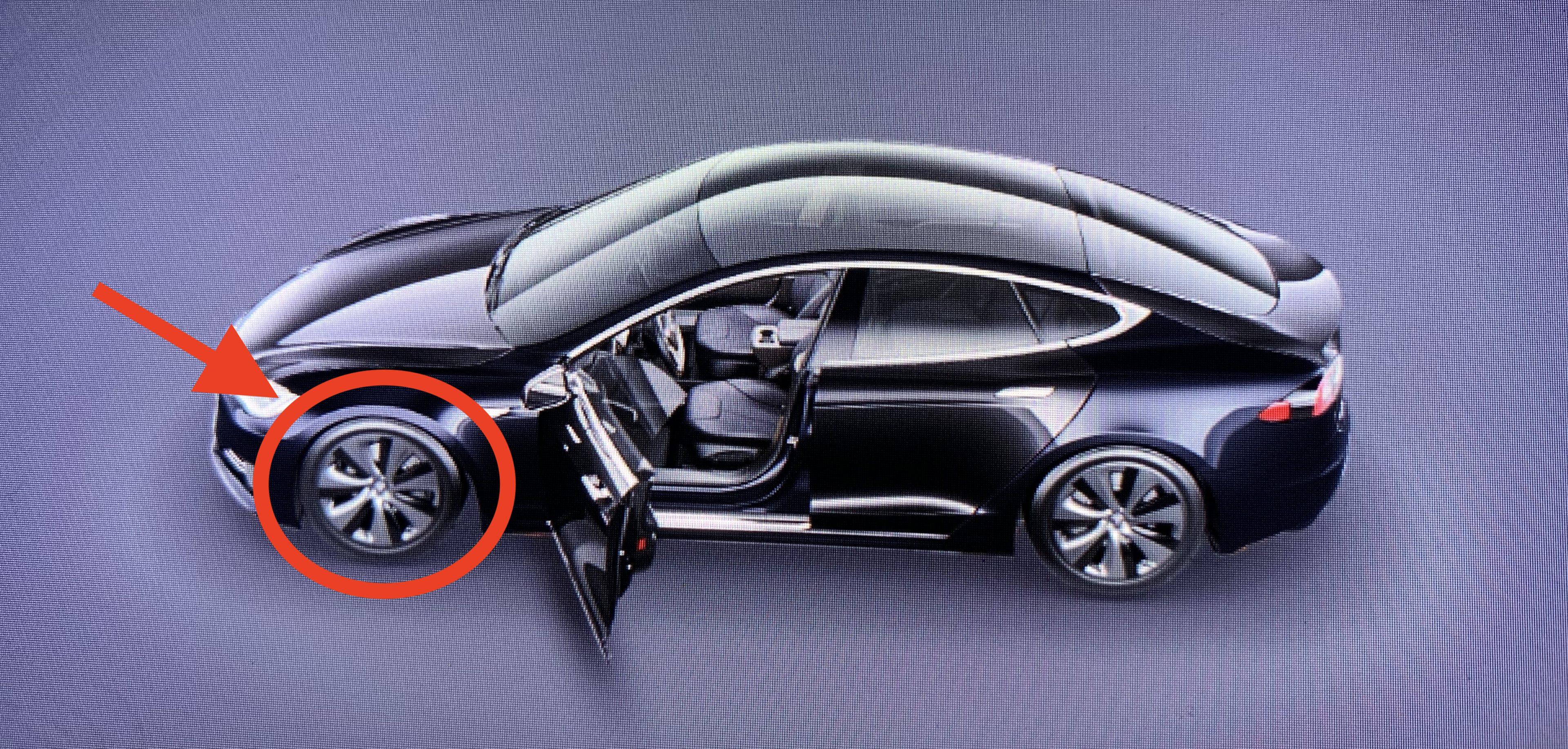 Tesla's new aero wheels leak in software update