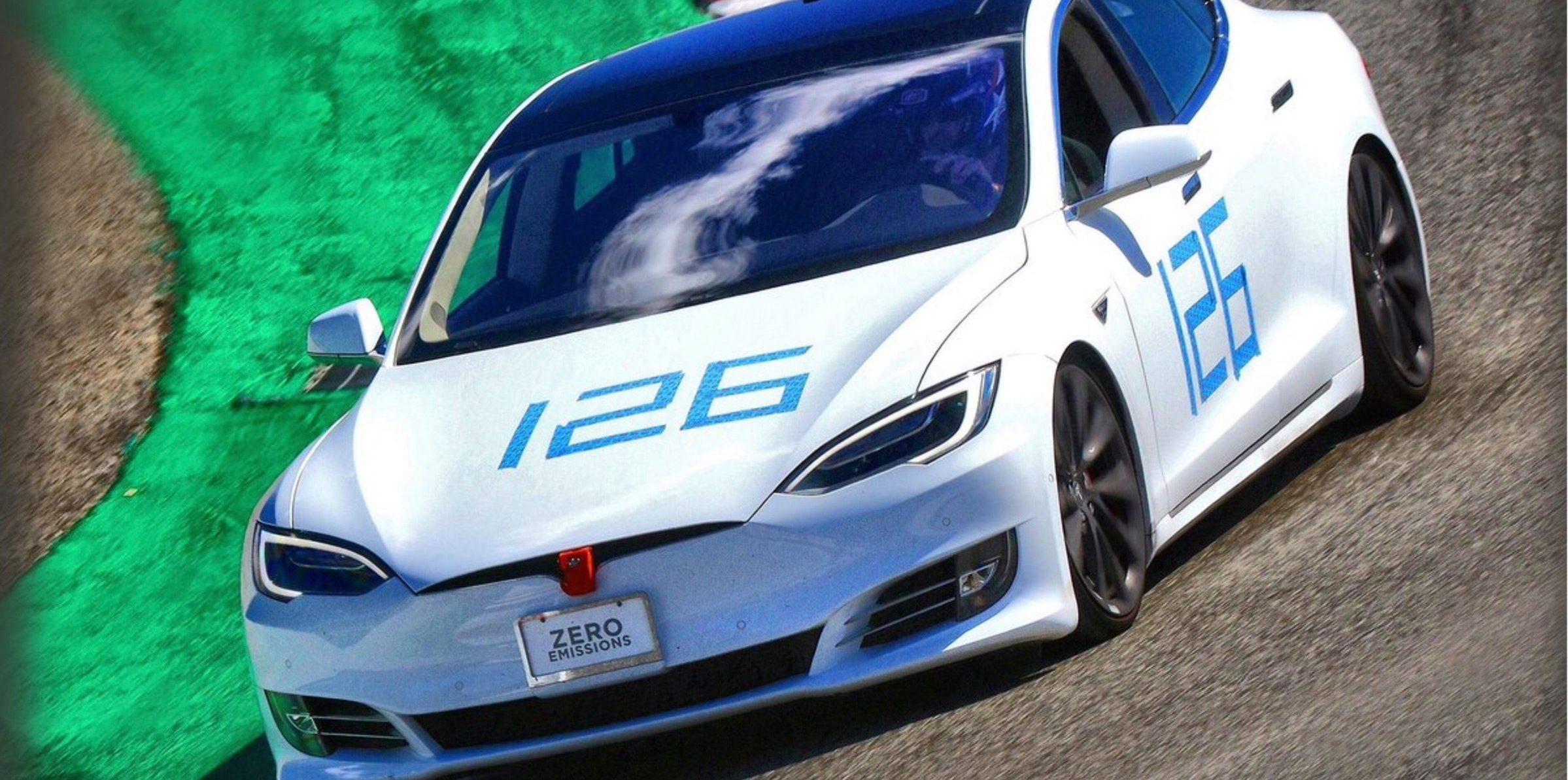 Tesla Model S breaks Laguna Seca lap records, says Elon Musk