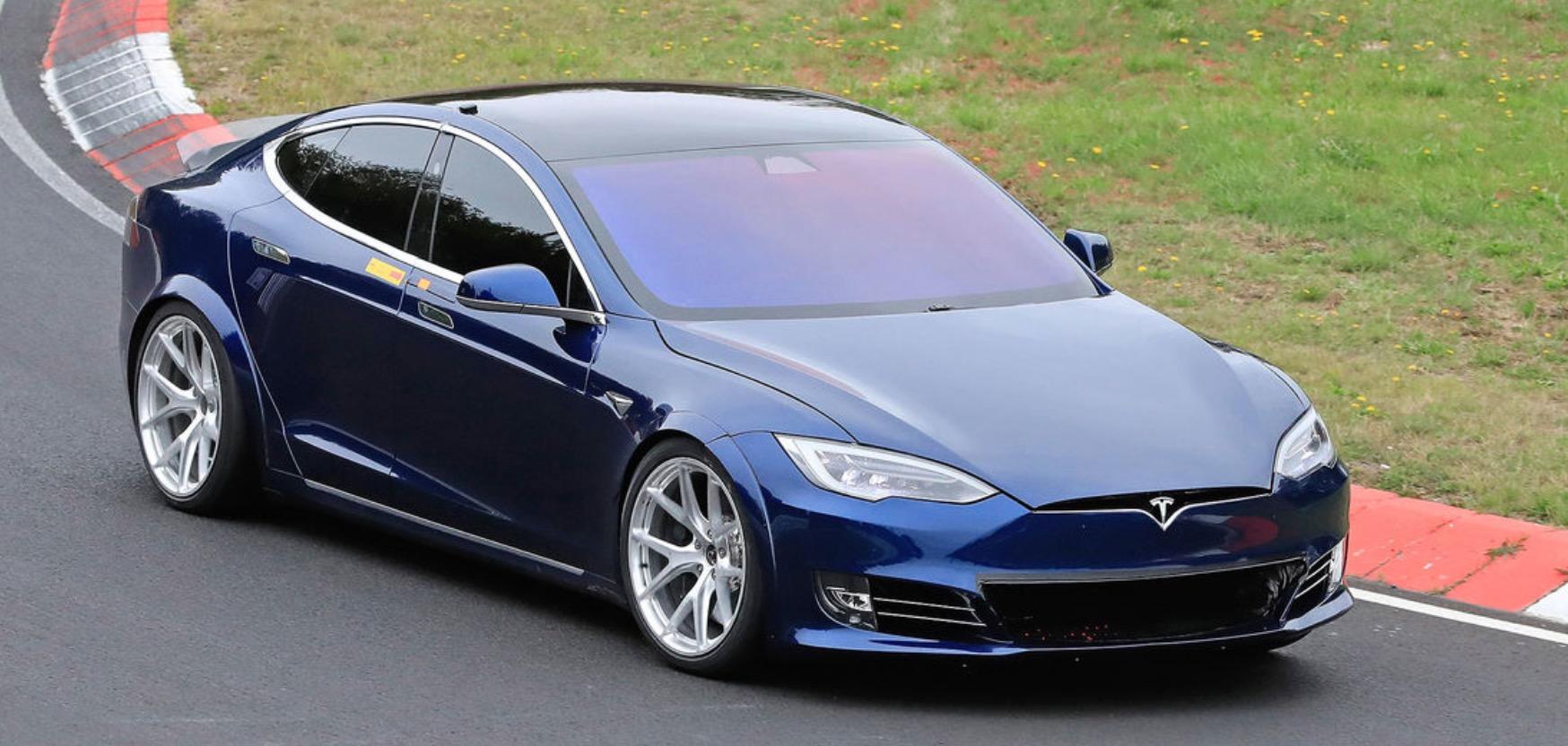 Tesla 'Plaid' Model S crushes Porsche Taycan's Nürburgring time, witness says - Electrek