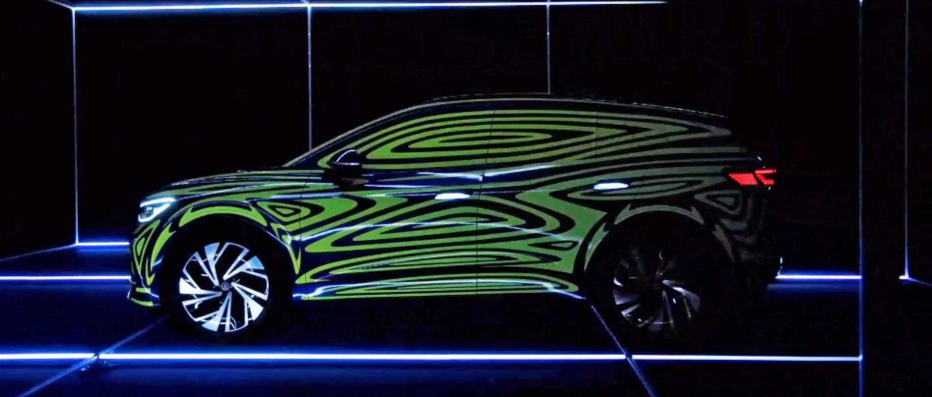 VW teases ID 4 electric crossover for US market coming next