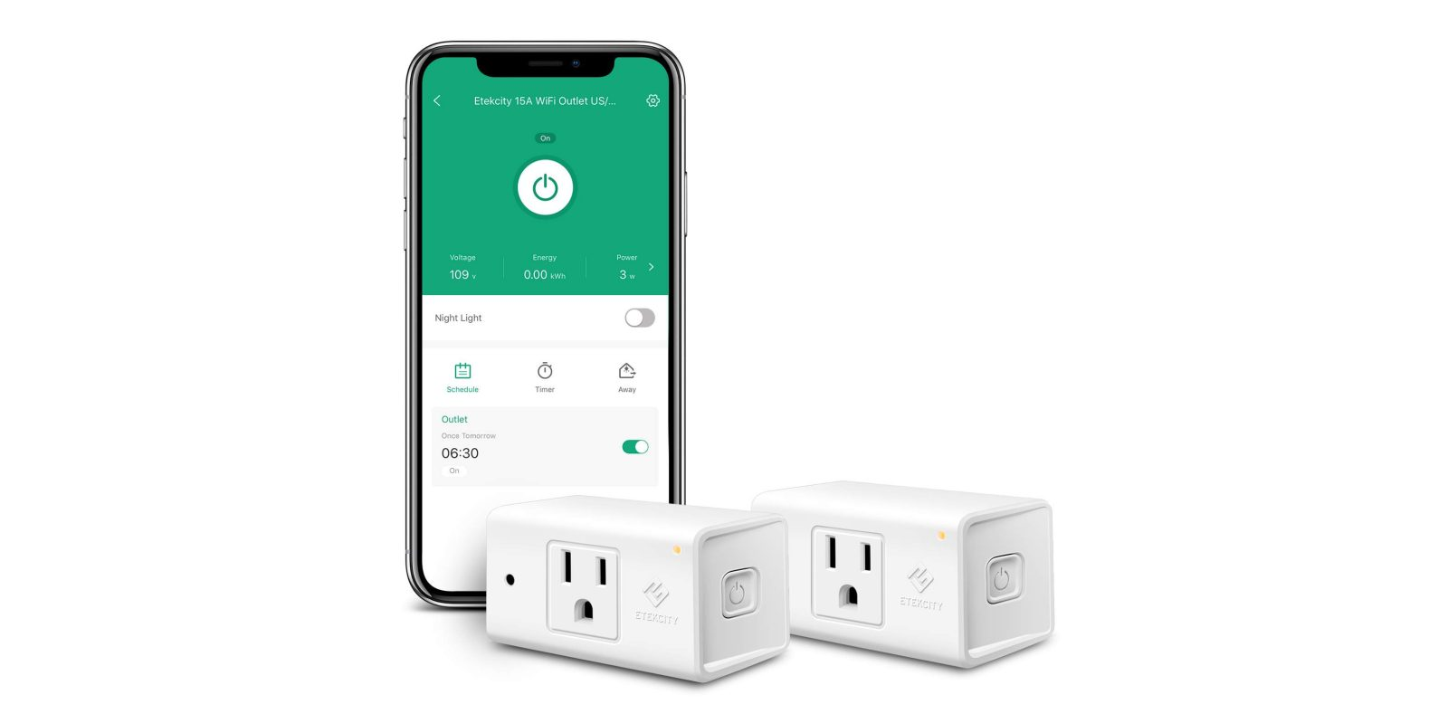 Automate your lights with a two-pack of smart plugs for $17