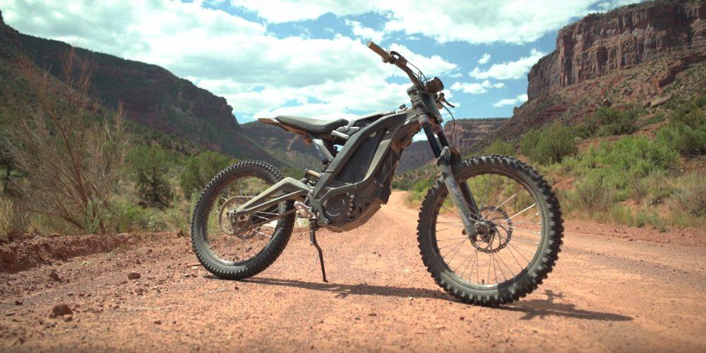 sur ron race electric motorcycle