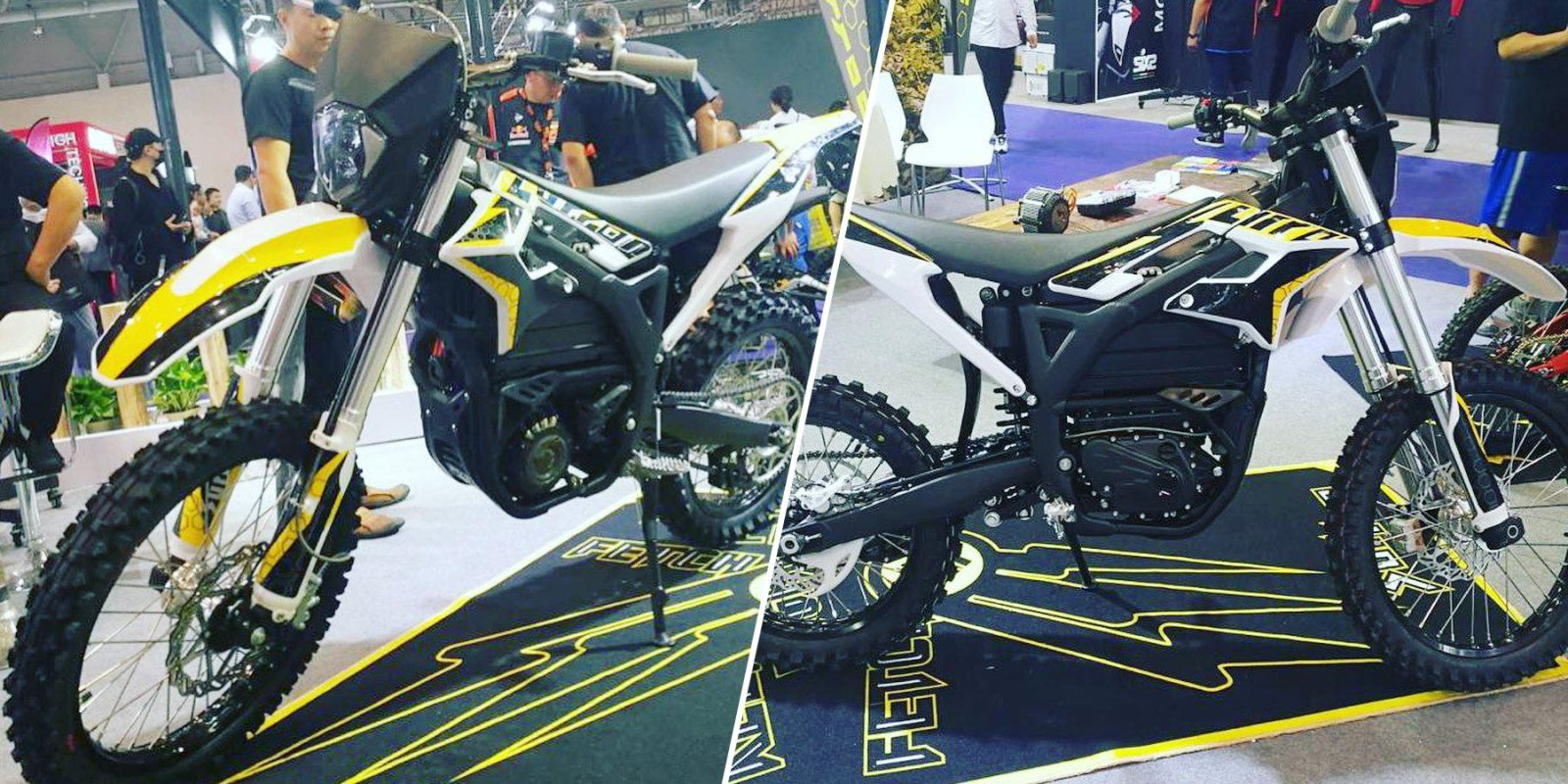 First look: 68 MPH (110 km/h) Sur Ron Storm Bee street-legal electric motorcycle