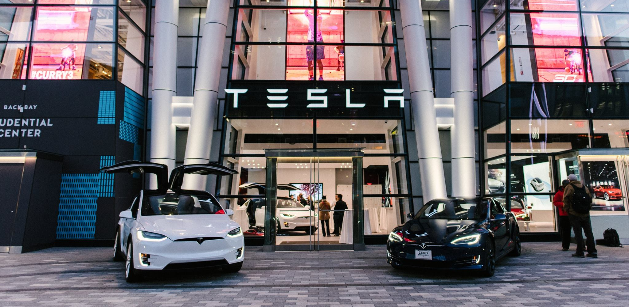 tesla store boston