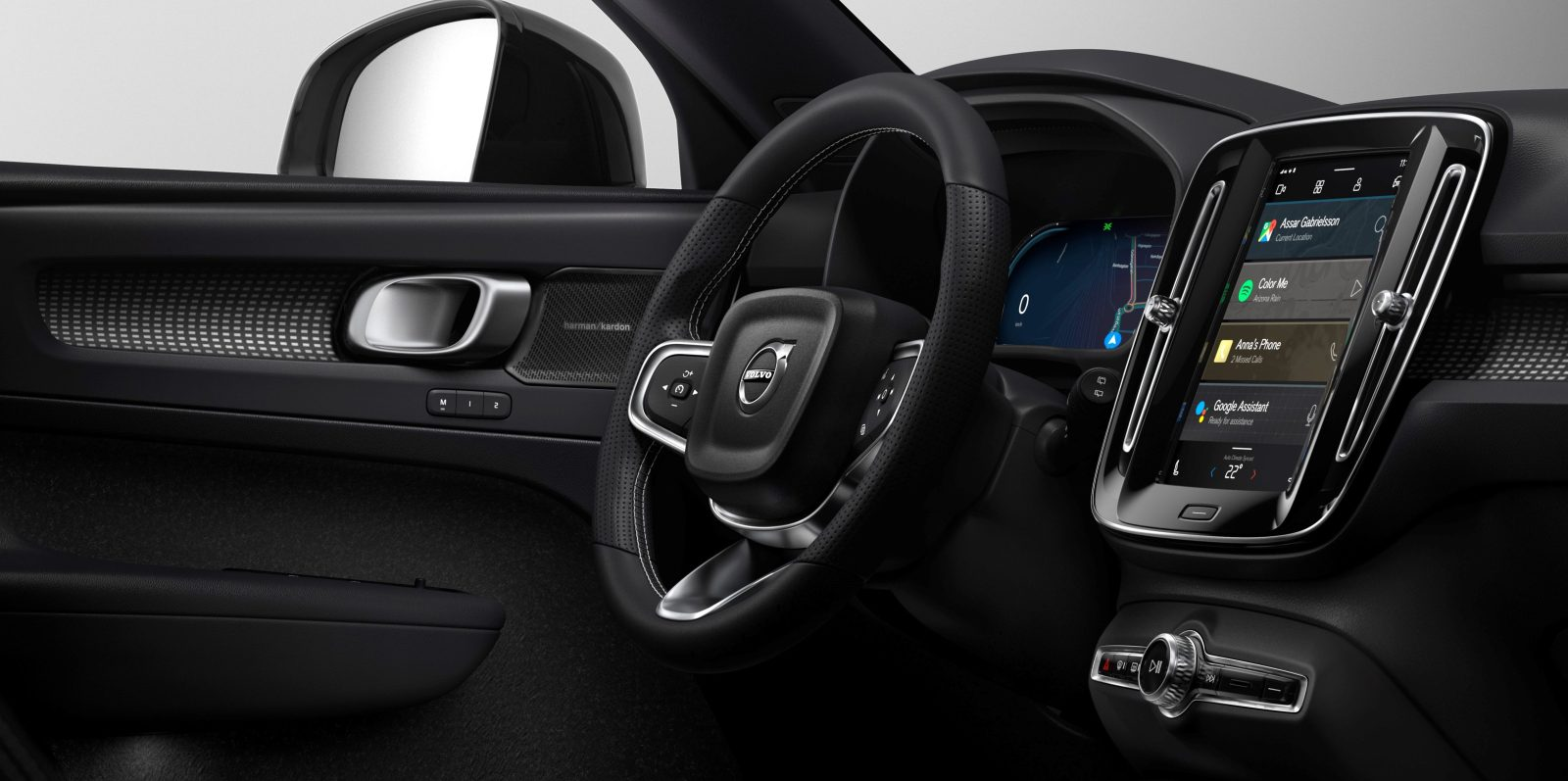 Volvo unveils electric XC40's infotainment system powered by Google's Android