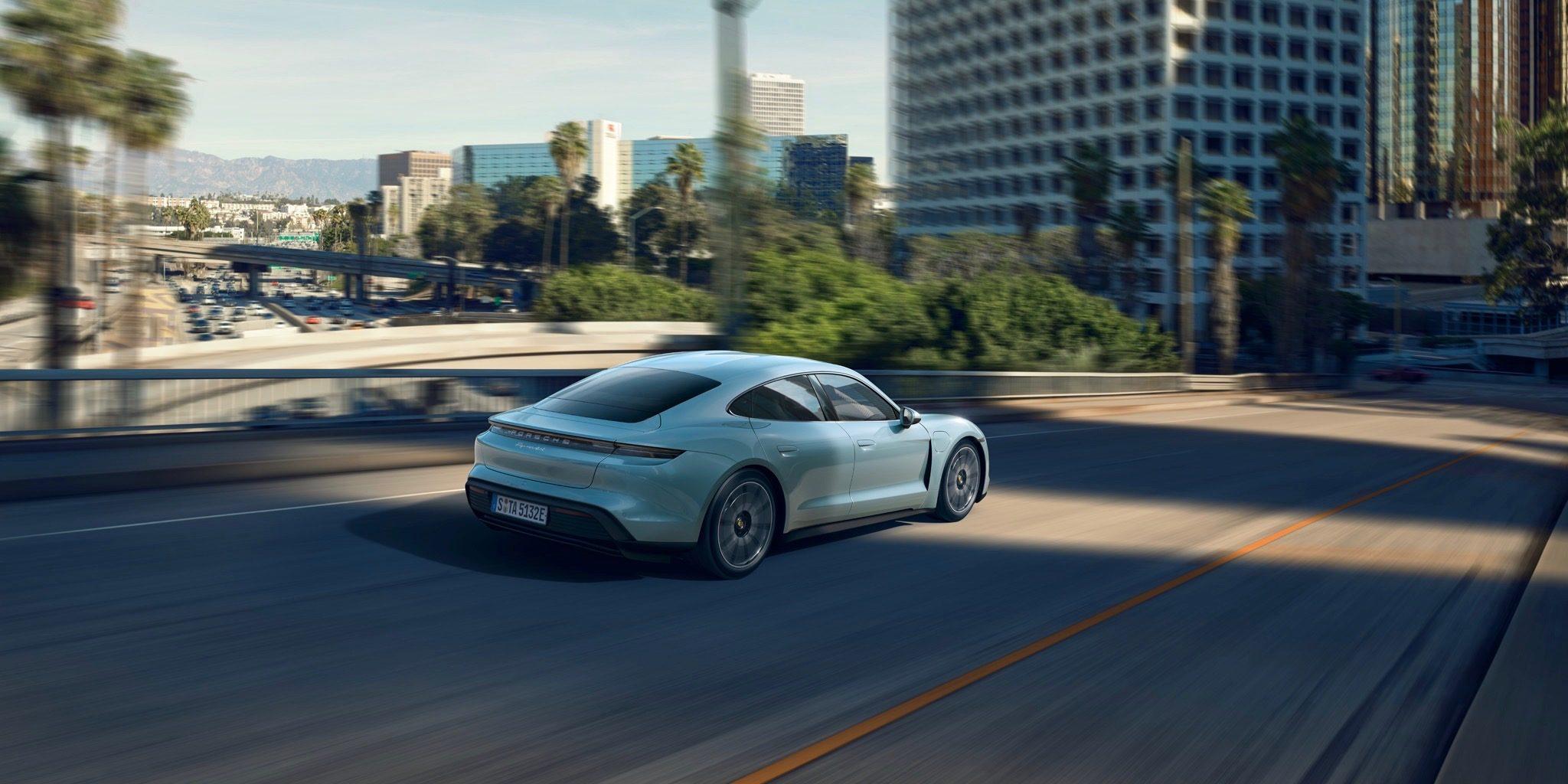 Porsche Taycan Turbo S is new least,efficient EV 68 MPGe