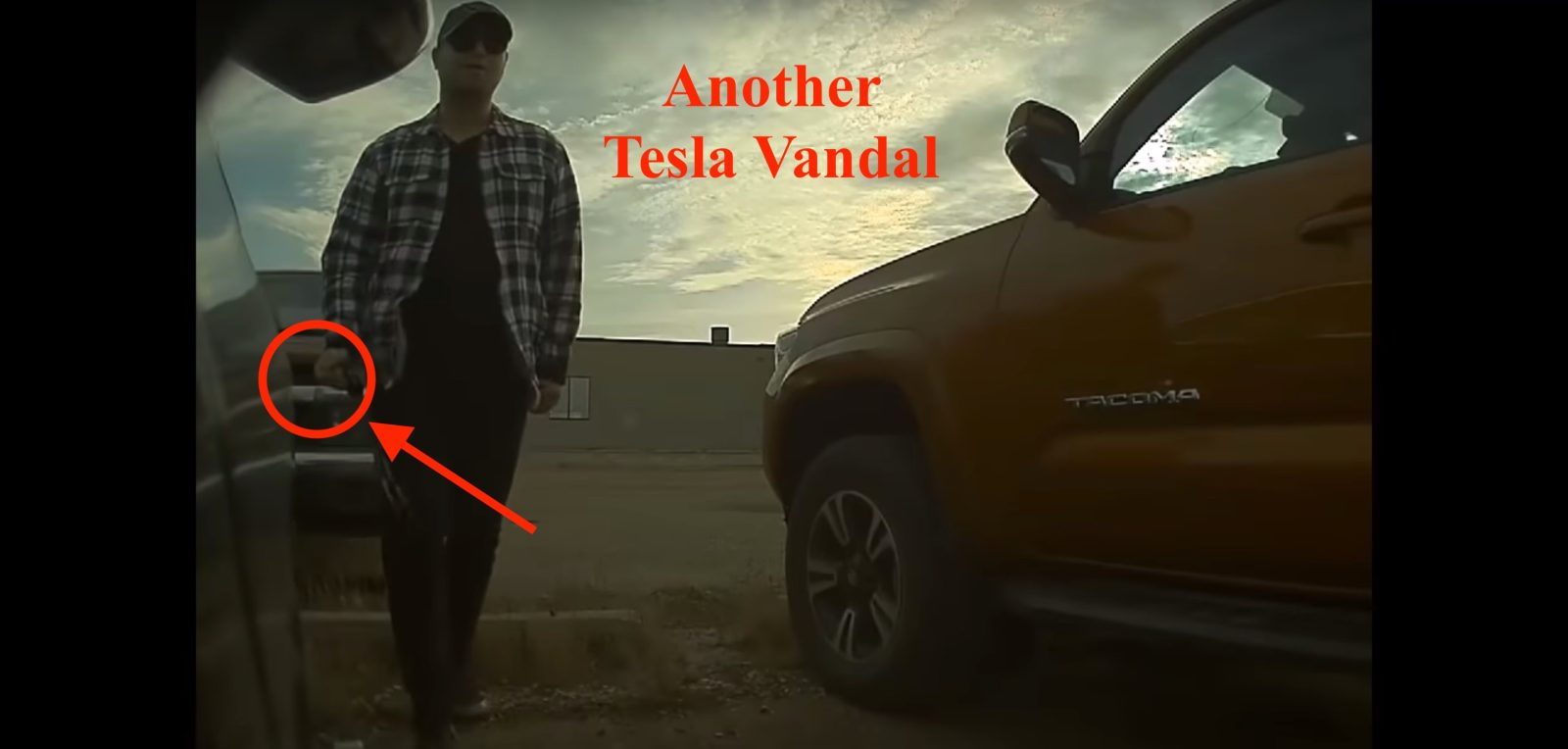 Tesla vandal turns himself in after seeing Sentry Mode video online