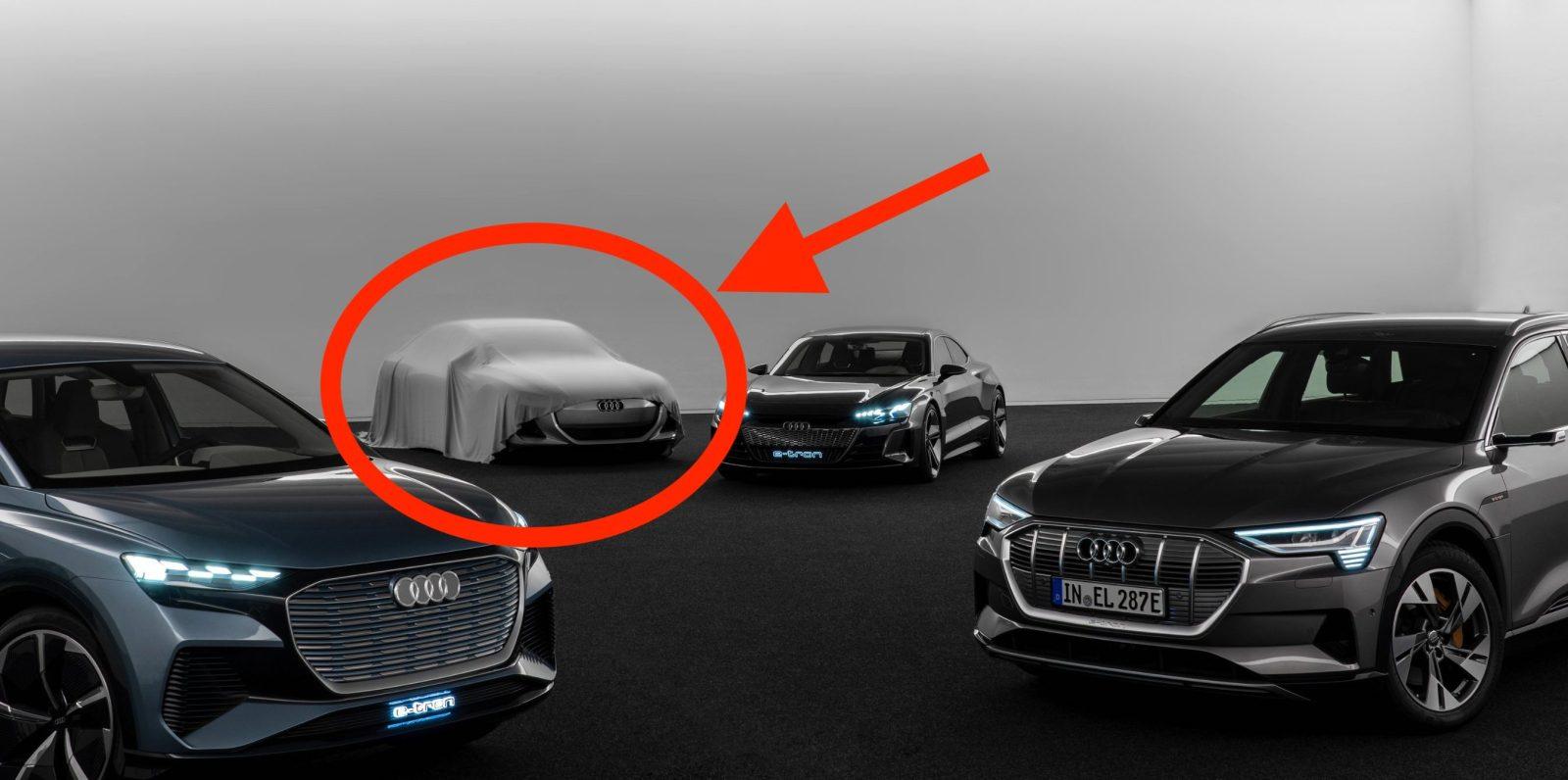 Audi teases electric 4-dour coupé based new electric platform built with Porsche