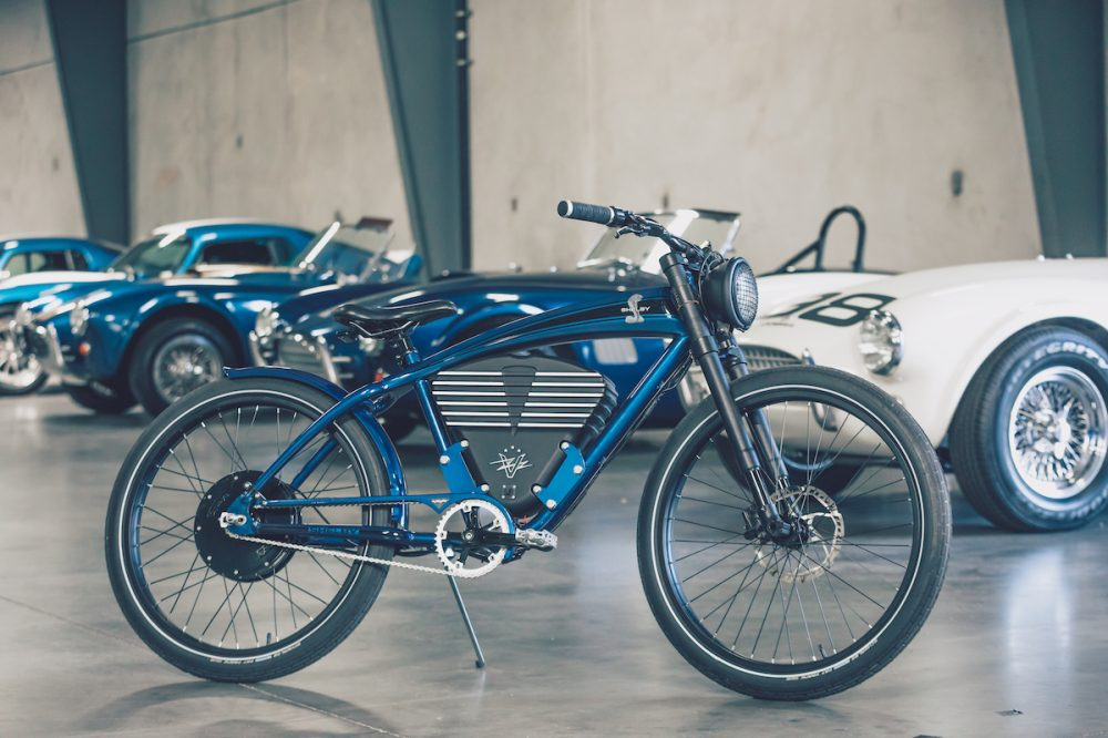 vintage electric shelby cobra electric bicycle