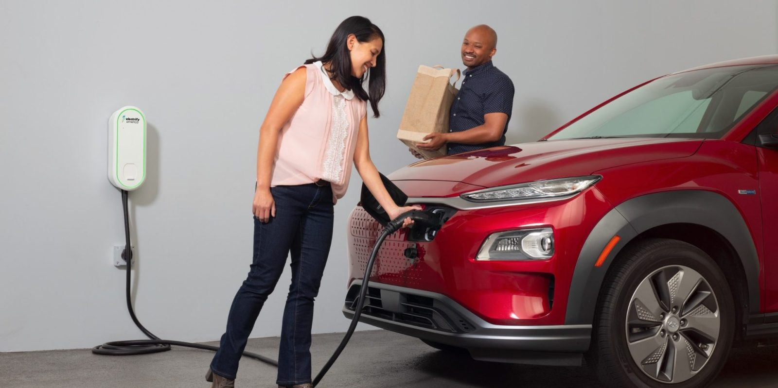 Electrify America launches $500 electric car home charger
