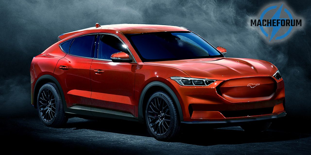 Ford Mustang Inspired Electric Suv