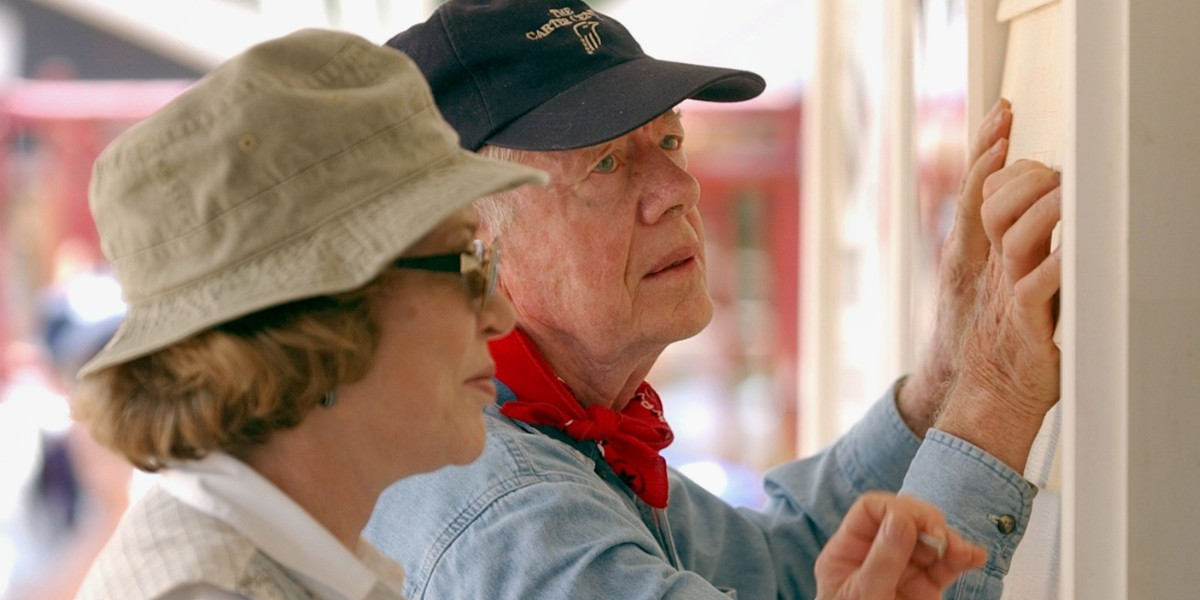 Jimmy and Rosalynn Carter's Habitat for Humanity wins Net Zero Energy homes award