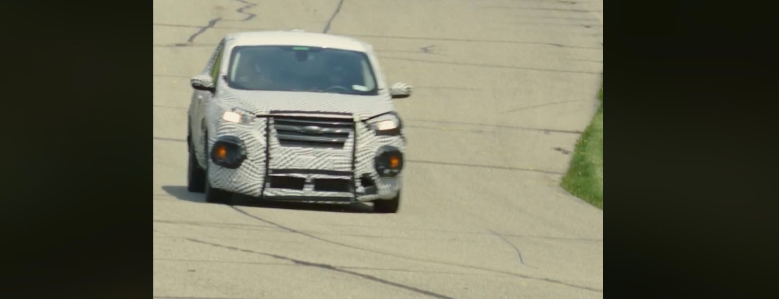 Ford shows Mustang-inspired electric car in testing video