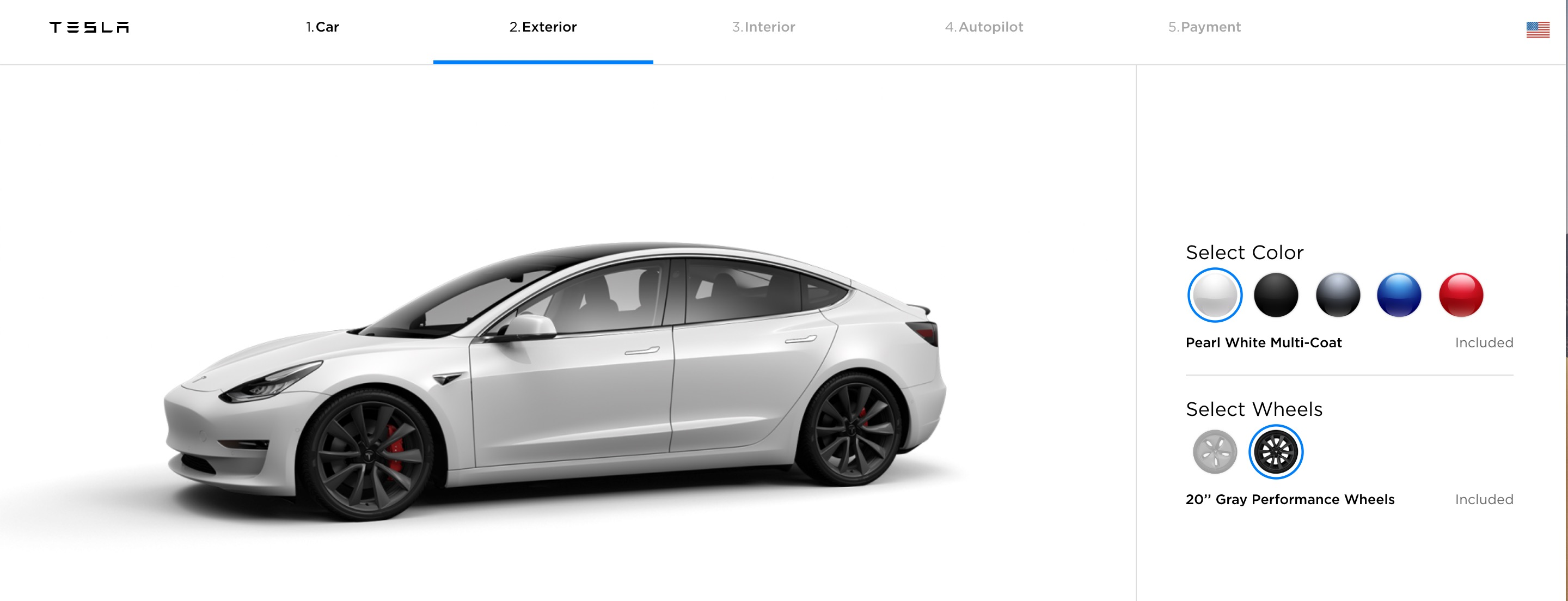 Tesla officially launches new Model 3 Gray Performance wheels - Electrek