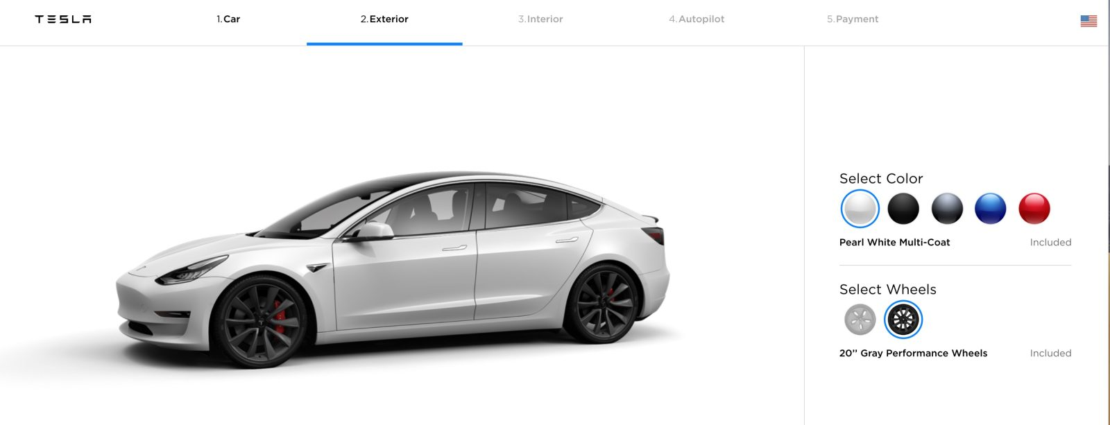 Tesla officially launches new Model 3 Gray Performance wheels