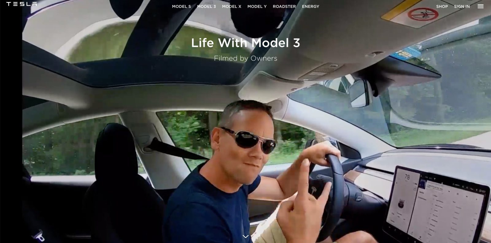 Tesla launches new 'Life with Model 3' series to promote ownership