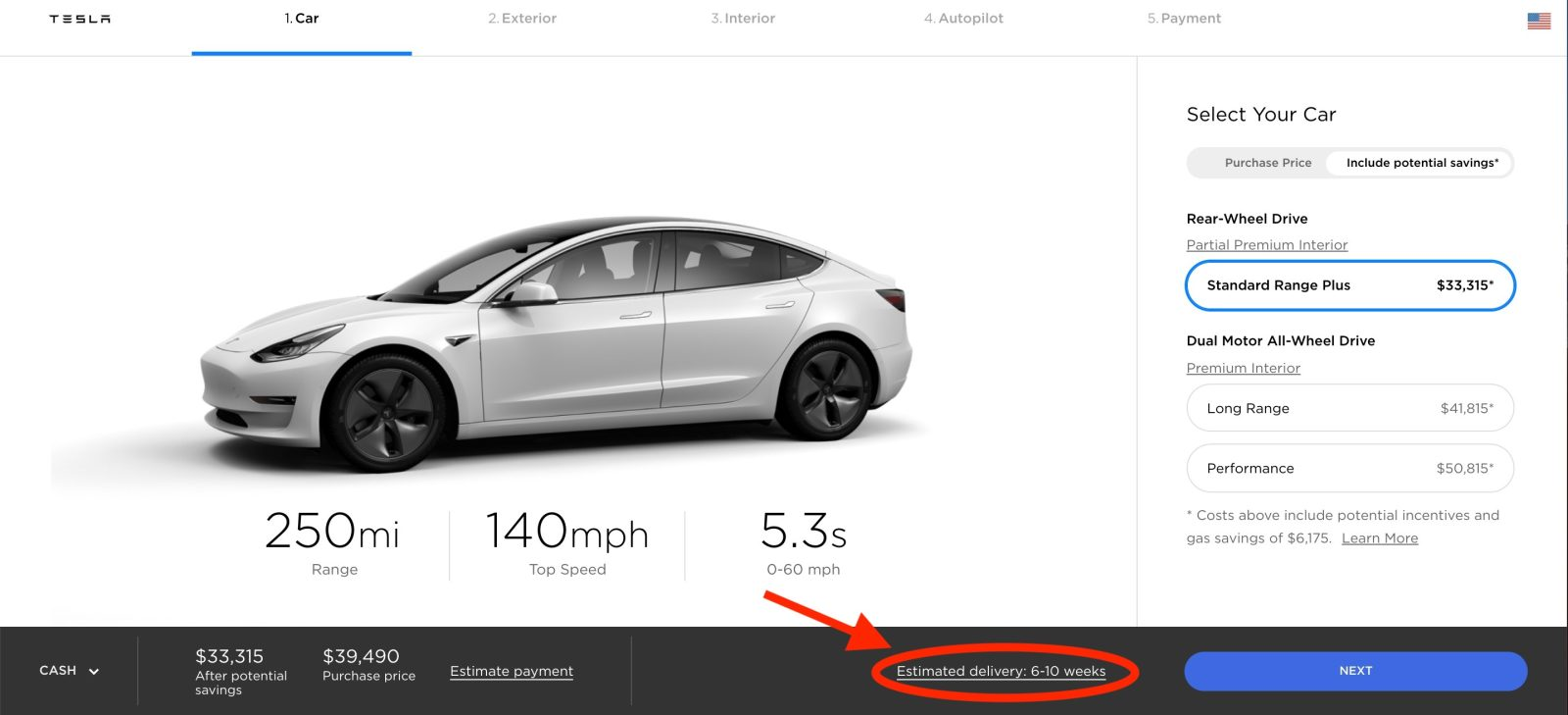 Tesla pushes Model 3 delivery time in US as demand surges ...