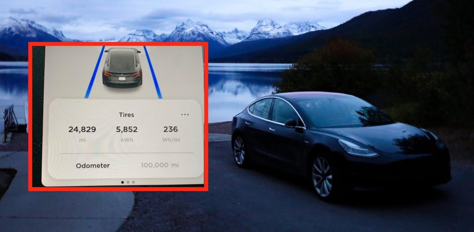 Tesla owner becomes first to push Model 3 to 100,000 miles, here's how it's doing
